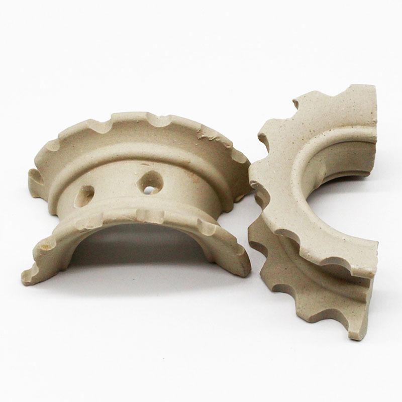 Ceramic Super Intalox Saddles Ceramic Saddle Packing wholesale