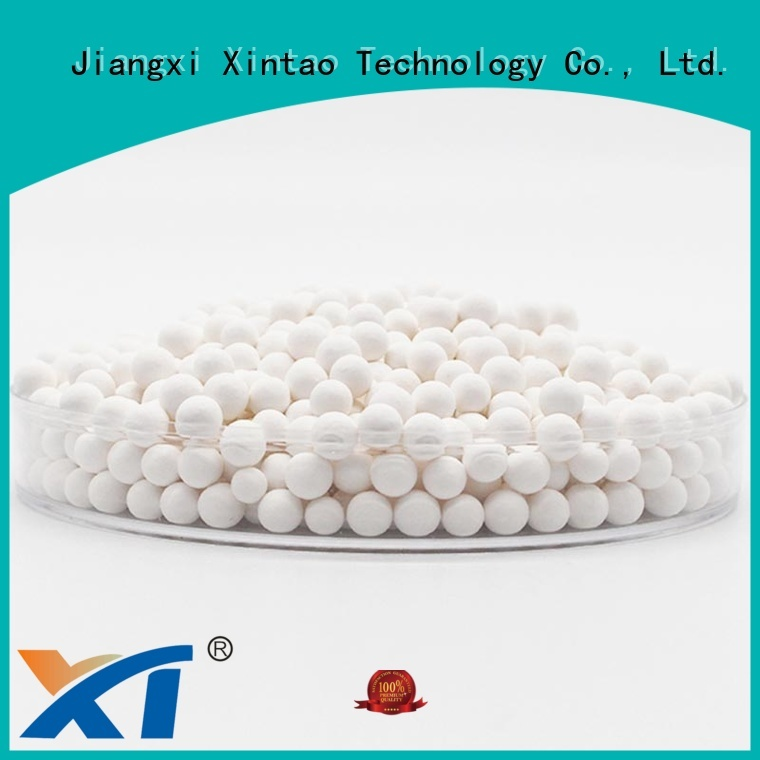 Xintao Technology activated alumina balls on sale for workshop