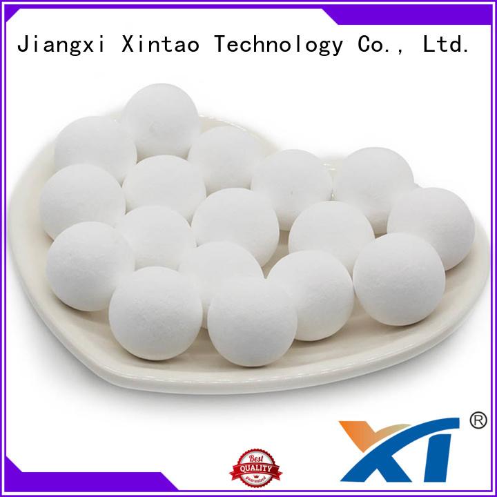 Xintao Technology alumina balls supplier for plant