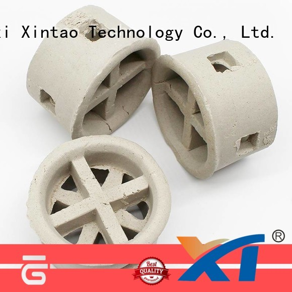 Xintao Technology raschig rings supplier for scrubbing towers