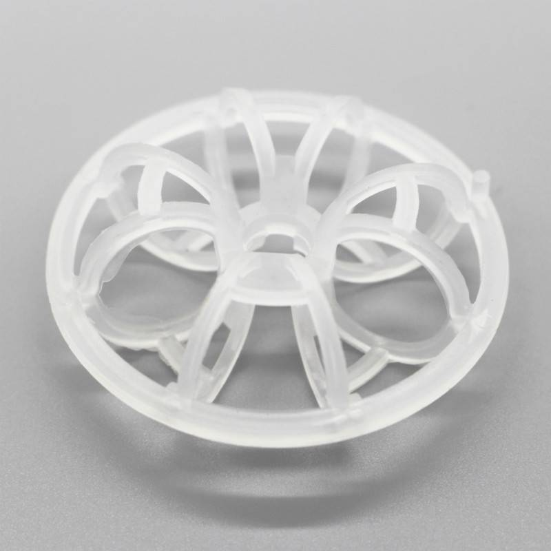 Plastic Tellerate Rosette Ring For Packing Towers